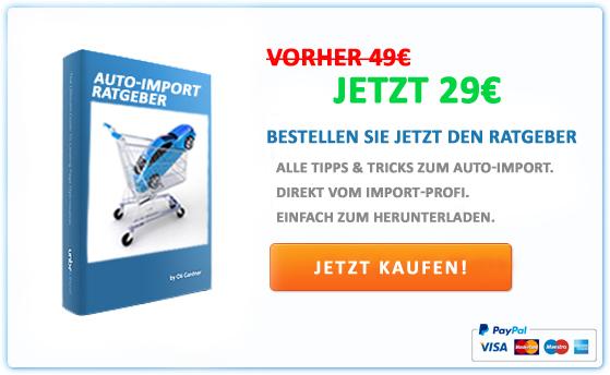 Ratgeber zum Auto-Import